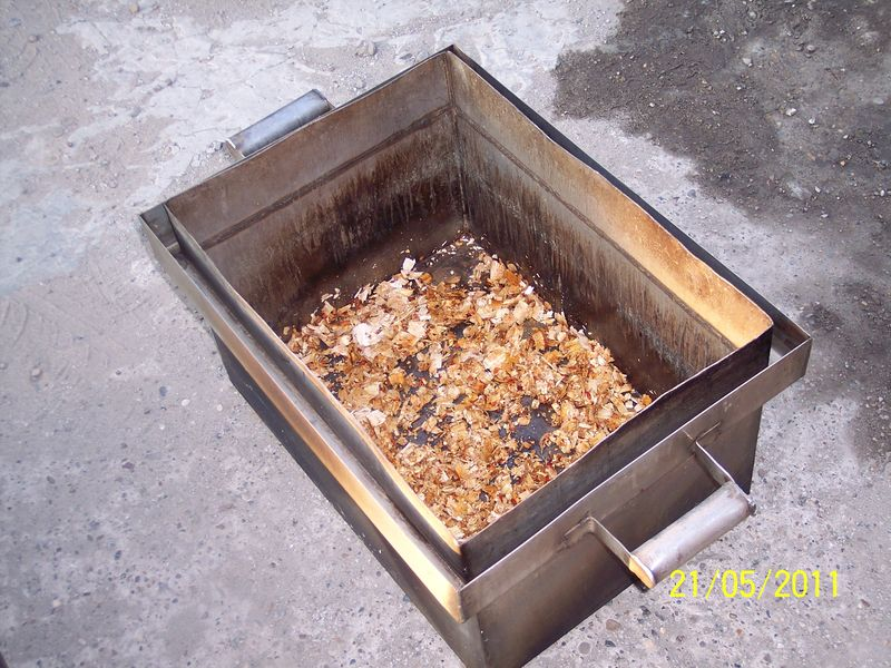 Коптильни горячего копчения